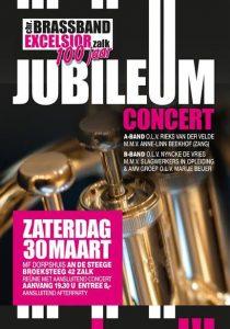 "Reünie Brassband Excelsior 100 jaar @ Dorpshuis ""An de Steege"""