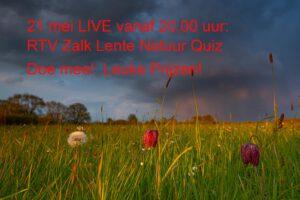 Lente Natuur Quiz @ Thuis vanaf de bank/keukentafel