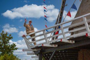 Gerrit Boom 40 jaar molenaar! @ Molen de De Valk te Zalk