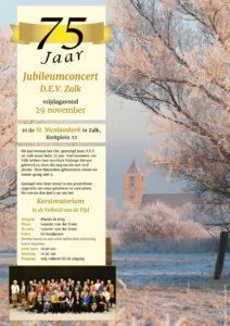 Jubileumconcert D.E.V. Zalk 75 jaar @ St Nicolaaskerk in Zalk