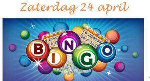 Uiterlijke opgave dag Online KONINGS-bingo