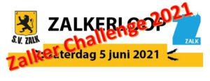 "Zalker Challenge 2021 @ Zalk, start Dorpshuis ""An de Steege"""